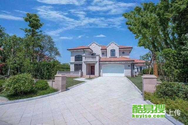 大虹桥核心徐泾北美风独栋别墅,超大私家花园,低于市